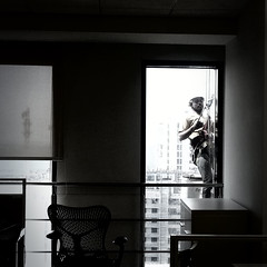 Project 365 # 050|The Lonely Stranger (Premkumar_Sparkcrews) Tags: life city bw india building buildings blackwhite construction nikon helmet samsung stranger hanging worker 365 50 2015 project365 indianphotography nikond3100 sparkcrews sparkcrewsstudios premkumarsparkcrews wwwsparkcrewscom sparkcrewscom premkumarsachidanandam