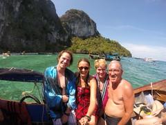 Photo de 14h - Avec Annie et Gérard à Ko Phi Phi (Thaïlande) - 20.02.2015