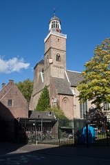 Utrecht - Klaaskerk (grotevriendelijkereus) Tags: city holland church netherlands architecture town utrecht nederland center medieval historic romanesque centrum kerk stad historisch westwerk binnenstad middeleeuws romaans westwork torenfront