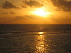 Sunset Over Indian Ocean in Galle