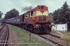 011114_07 (The Alco Safaris) Tags: new delhi indian kerala express railways dlw trivandrum alco 2626 wdm2ca