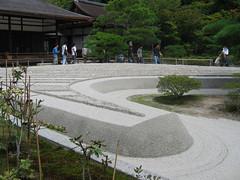 Ginkaku-ji Jisho-ji Sand Garden
