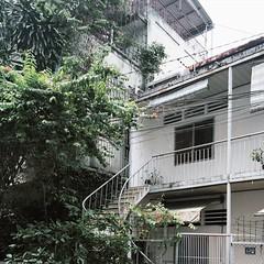 """Saigon"" in HCM (Khoaphm) Tags: architecture vintage mono minimal vietnam saigon oldbuilding sign retrobuilding iphonography retroinspired khoapham vscofilm thichgichupdo chungcphanlim"