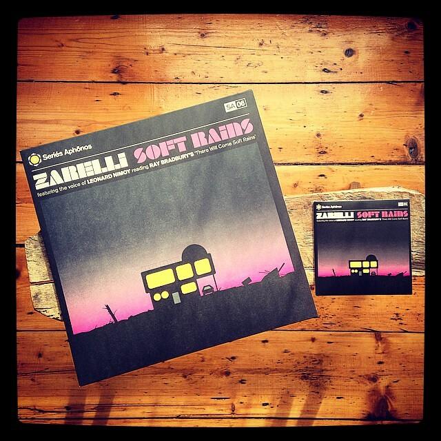 Zarelli - Soft Rains feat. LEONARD NIMOY. OUT TODAY!!! #zarelli #leonardnimoy #softrains #raybradbury #seriesaphonos