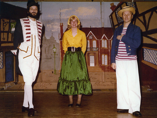 1978 Dick Whittington 03 (from left David White,June Francis,Ted Hampton)