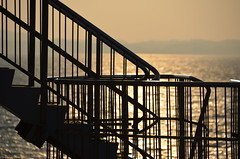 sea (Hayashina) Tags: sea japan staircase railings capefuttsu