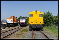 Locon 220 & 189 098 & SHD 2205 - Zwolle (Spoorpunt.nl) Tags: up juni v100 7 line 150 2205 stichting zwolle spoor jaar emplacement 220 189 2014 historisch 098 1830 shd 9908 locon deventerstraatweg dieselmaterieel