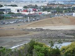 Lots of tidying up. (SandyEm) Tags: onehunga earthworks landreclamation onehungaforeshoreproject 3march2015