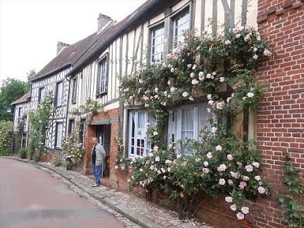 専用車で行く 薔薇の村ジェルブロワ(パリ発のオプショナルツアー)