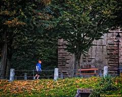 Jogging along the South Bank of the Rhine (PhotosToArtByMike) Tags: switzerland swiss run basel jogging rhine jog ch riverrhine grossbasel baselswitzerland alstadtkleinbasel