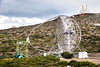 "2016-03-12 La Palma (24) - Das ""Major Atmospheric Gamma-ray Imaging Cherenkov Telescope"" (MAGIC), Teil des Roque de los Muchachos-Observatoriums auf der Insel La Palma, Spanien (mike.bulter) Tags: spain kanaren canarias espana lapalma canaries canaryislands esp observatorium spanien teleskop kanarischeinseln hoyagrande observatoriodelroquedelosmuchachos roquedelosmuchachosobservatorium hoyagrandegarafia majoratmosphericgammarayimagingcherenkovtelescope thefloriangoebelmagictelescopes"