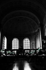 Boston Library Reading Room (rredfern14) Tags: boston centrallibrary ma reading room library bw balckwhite history