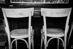 liquid time #3 (Claudia Ioan) Tags: rome interiors fujifilm fujifilmxpro1 fujinon18mm blackandwhite claudiaioan liquidtime roma chairs