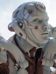 """MS. ROBOT"" (Midhras) Tags: paragon epicgames unrealengine4"