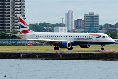 BA CityFlyer - Embraer ERJ-190SR - G-LCYK  London City Airport (paulstevenchalmers) Tags: ba cityflyer embraer london londoncity lcy airport