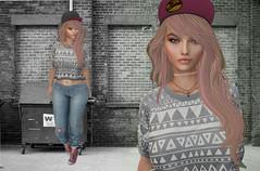 urbana ( ) Tags: urabana valekoer mesh hairmesh chile secondlife moda foxy amala choker pink pinkhustler tetra cap