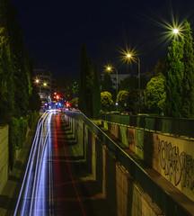 Luces 1 (jolurove) Tags: lighttrails light city street streetphotography motorway