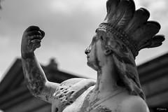 Lagrimas Negras (sierramarcos14695) Tags: minolta rokkor mc sony a58 quetzaltenango guatemala estatua arte cultura ciudad exploracion urbana belleza artemisa diosa griega lagrimas negras monocromatico blanco y negro travel teatro municipal xela