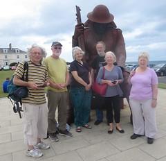 Group photo with Tommy, Seaham (John Steedman) Tags: tommy seaham uk unitedkingdom england   greatbritain grandebretagne grossbritannien