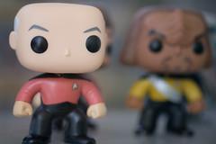 Captain Picard and Lieutenant Worf (Sean Davis) Tags: captainpicard chicago jeanluc klingon startrek worf