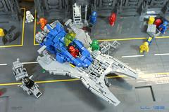 LL 122 (I Scream Clone) Tags: classic lego space scifi benny