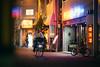 干日前シアター · Sennichimae Theatre (Alex Robertson) Tags: 干日前シアター sennichimae theatre osaka 大阪 千日前 neon night street japan light ネオンサイン ネオン sign