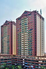 Apartemen Cempaka Mas (BxHxTxCx) Tags: building apartment jakarta gedung apartemen