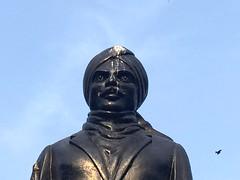 Shit (Mayank Austen Soofi) Tags: delhi walla tamil poet subramania bharti statue shit