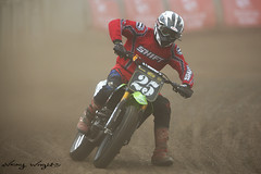 Dirt Quake V (FocusedWright) Tags: uk england bike track bikes motorbike dirt dust motorbikes oval dirttrack motorsport kingslynn 2016 motorcycleracing flattrack sideburnmagazine adrianfluxarena dirtquakev
