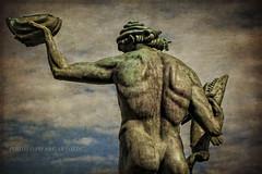 LA PCHE (pierre.arnoldi) Tags: sculpture texture statue gteborg scandinavie lapche photooriginale