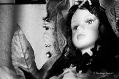 Mueca (Constanza Romero L.) Tags: sony alpha chile temuco sonyflickraward mueca doll blackwhite blanconegro face cara retrato portrait