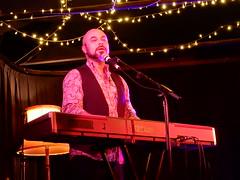 Ben Ford-Davies on Keyboard (mikecogh) Tags: thebarton benforddavies keyboard performance thewheatsheaf inthezone lost singing emotion
