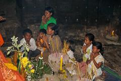 Devotion (Stephan Haecker) Tags: world people heritage children temple asia religion unesco devotion ankor southeast wat cambodgia