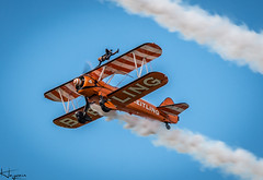 Breitling Wing Walkers (Wayne Cappleman (Haywain Photography)) Tags: wayne cappleman haywain photography farnborough airshow 2016 fia16 fia2016 breitling wing walkers boeing stearman biplane
