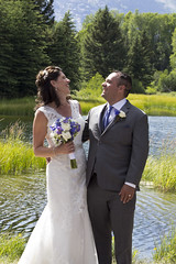 Andrew and Laura laughing (nicoangleys) Tags: sotowedding wedding tetons family
