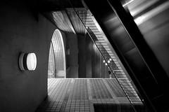 Conjonction des lumires ! (Lucien-Guy) Tags: noiretblanc blackwhite nb bw architecture metro outremont montral qubec p310 nikon light