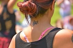 one of those days (armykat) Tags: annapolismaryland annapolisirishfestival tattoo