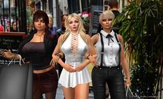 Shopping in Paris Saint-Germais-des-Prs (Aida Lundquist) Tags: secondlife shopping girls