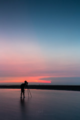 passion (agapicture) Tags: blue beach water sky sunset clouds seascape