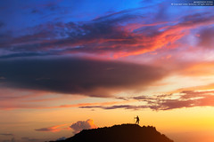 At the Edge of the World (Anton Jankovoy (www.jankovoy.com)) Tags: indonesia bali batur sunset clouds nature silhouette volcano landscape travel exploring