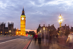 Blurred People Walking On Westminster Bridge (SplitShire) Tags: blur blurred britain british bus city crowd dusk english evening kingdom life light london londoncollection motion movement night parliament people speed street tourism tourist touristic tower travel uk united westminster