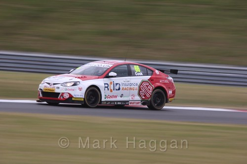 Josh Cook in Touring Car action during the BTCC 2016 Weekend at Snetterton