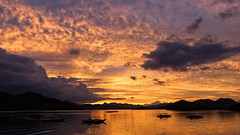 Outstanding Coron during sunset (Aviation and Travel photography) Tags: coron sunset philippines canon flickr outdoor teamcanon sunsets hiking palawan northern travel travelling asia asians best moment landscape landschap sky dusk cloud awesome image clouds