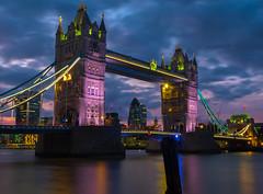 Tower Bridge, London (cjthorose) Tags: london england unitedkingdom gb towerbridge fuji xt10 citysatnight nighttime longexposure amazingview amazing skyline