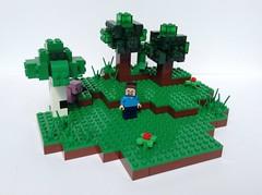 Minecraft - Day 1 (Cevka) Tags: moc minecraft lego