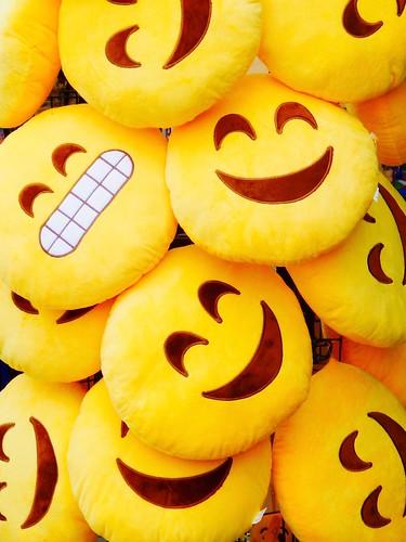 Smiles, smiles, smiles...