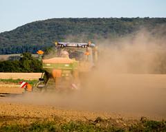 Farm dust! (Wilco1954) Tags: burgundy cotedor dust farm working