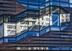 The New School University Center (Joel Raskin) Tags: thenewschool architecture facade reflections fragmentedreflections thruthewindow reflectiveglass newyorkcity nyc manhattan fromthebus a7ii a7m2 sel24240 angles lines