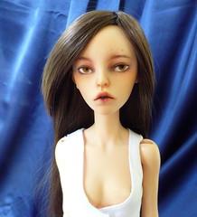 Lina's face up (TrollBloodDolls) Tags: bjd balljointeddoll hybrid dollzone doll chateau