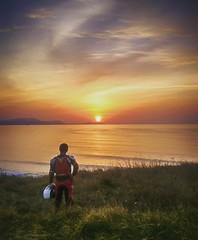 Sunset en Barrika (Hajaterirehore) Tags: barrika sunset